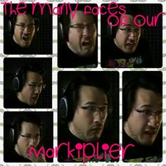 The many faces of our Markiplier! Hope y'all like it.