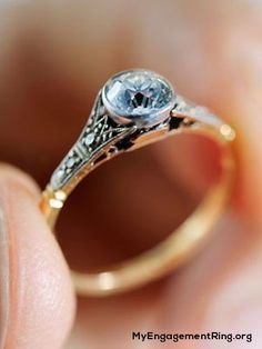 cute antique engagement ring - My Engagement Ring
