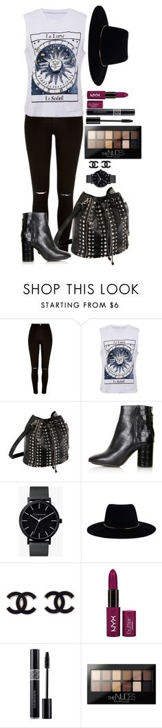 """""""Untitled #1180"""" by fabianarveloc on Polyvore featuring River Island, Topshop, The Horse, Zimmermann, Christian Dior and Maybelline"""