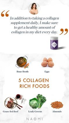 Collagen Rich Foods, What Is Collagen, Bone And Joint, Grass Fed Beef, Skin Elasticity, Bone Broth, Better Health, Amino Acids, Health Benefits