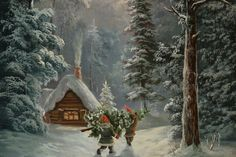 Contemporary Christianity: Post-Evangelic Topics and Theology: Merry Christmas from Sweden! Christmas Light Show, Christmas Past, Merry Little Christmas, Vintage Christmas Cards, Scandinavian Christmas, Christmas Lights, Xmas Ornaments, White Christmas, Illustration Noel