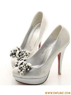 401f8a38442 silver  black   gold beaded butterfly 10 cm high heels Weddi... Cheap