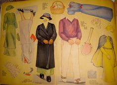 Paper Doll Family Clothing by Pennelainer, via Flickr