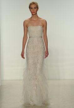 Christos Spring 2015 wedding dress | Kurt Wilberding | The Knot blog wedding dressses, the knot, knot blog