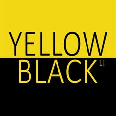 Black N Yellow, Black And White, Color Yellow, Color Pairing, Color Combos, Yellow Theme, Men Quotes, Colour Board, New York Street