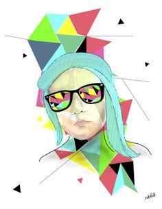 #illustration #self-portrait #colors #digital art