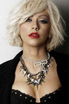 Christina Aguilera - Love the colour...and maybe one day the cut too.