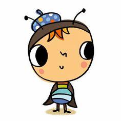 Maria Neradova Illustration: Little bugs for educational books