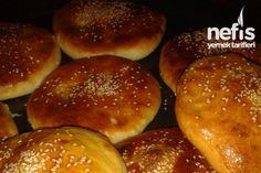 Kete Tarifi Hamburger, Bread, Food, Breads, Baking, Hamburgers, Meals, Yemek, Burgers