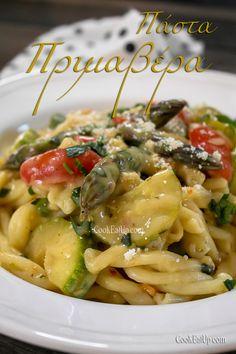 Pasta Primavera, Greek Recipes, Pasta Salad, Ethnic Recipes, Food, Noodles, Crab Pasta Salad, Recipes, Essen