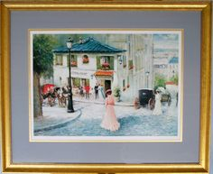 "Limited Edition Art Print ""La Maison Rose"" by artist Chun Montmartre Paris, Gift Card Giveaway, Mixed Media Art, Egypt, Art Photography, Art Prints, Gallery, Artist, Cards"