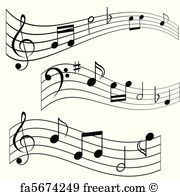 Free Art Print Of Music Notes Musicnotes Free Poster Or Art Print