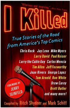 I Killed - Profs. Oliar and Sprigman read this before writing their standup comedy article