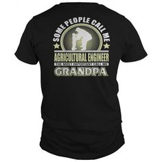 Awesome Tee  Best ME AGRICULTURAL ENGINEER GRANDPA T-SHIRTS-back Shirt T-Shirts