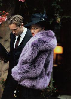 Lara & Purple Fur