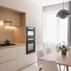 Small Kitchen has never been so Fashionable! Since the beginning of the year many girls were looking for our Top guide and it is finally got released. Now It Is Time To Take Action! Kitchen Room Design, Modern Kitchen Design, Home Decor Kitchen, Interior Design Kitchen, Apartment Interior, Apartment Design, Modern Kitchen Interiors, Minimalist Kitchen, Cuisines Design