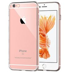 iPhone 6 Plus Case JETech Apple iPhone 6s6 Plus Case 55 Inch Bumper Cover ShockAbsorption Bumper and AntiScratch Clear Back for iPhone 6s Plus and iPhone 6 Plus 55 Inch  0701 -- Visit the image link more details. (Note:Amazon affiliate link)