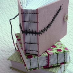 Bug Books recycled hand bound notebooks