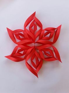 Amazing 3D Paper Snowflake