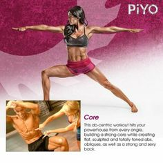 NEW! Chalene Johnson PiYo Core Workout | Come to my website for more details and to join one of my online PiYo support groups!