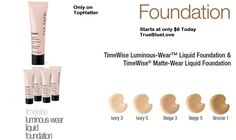 MARY KAY TIMEWISE LUMINOUS LIQUID FOUNDATION BEIGE 4 +  is going up for auction at 12pm Mon, Jun 3 with a starting bid of $20.