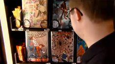 Jovem portador da síndrome de down cria vending machine de HQs