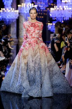 Elie Saab Couture Fall 2014. See all the best looks here.