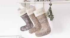 ACHICA | Personalised Christmas Stockings