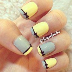 Cute French Manicure Idea