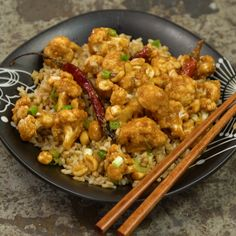 This homemade spicy cauliflower stir-fry will be your new favorite vegetarian dish.