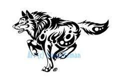 Side tattoo. I would like to have this along with two other wolves on my side