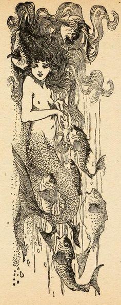 """""""Fairy tales of Hans Andersen"""" (1908) illustrated by Helen Stratton (часть первая)"""