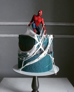 The amazing cake art of Russian artist and pastry chef Elena Gnut – baking or artwor … – Food – Cake Spiderman Birthday Cake, 4th Birthday Cakes, Superhero Cake, Gorgeous Cakes, Amazing Cakes, Amazing Art, Marzipan, Rodjendanske Torte, Russian Cakes