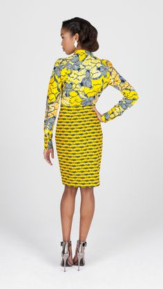 Sunglow Yellow | Vlisco V-Inspired