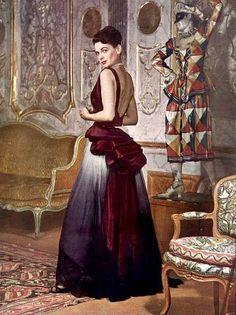 Evening gown by Elsa Schiaparelli, 1948