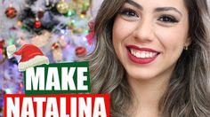 Maquiagem Para o Natal - YouTube