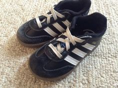 Adidas SAMBA CMF I Black + White Athletic Toddler Boys Kids Sz 6K SHOES #adidas #Athletic