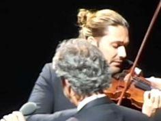 David Garrett and Andrea Bocelli, 230613 Cologne, Ave Maria