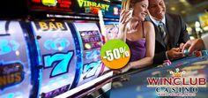 WINCLUB  Casino en el Malecón - $75 en lugar de $150 por 1,500 Créditos FNR. Click: CupoCity.com