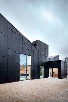 Primus architects · Library and Culture Centre. Allerød, Denmark · Divisare