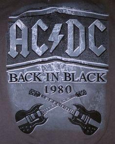 Vintage Rock Tees, Back To Black, Chevrolet Logo, College, T Shirt, Supreme T Shirt, University, Tee Shirt, Tee