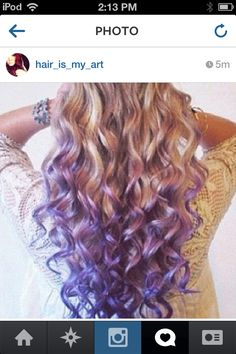 Repin if you love this purple ombre!!!