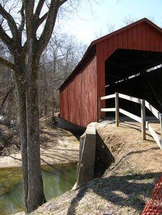 Covered Bridges in Missouri  -  Travel Photos by Galen R Frysinger, Sheboygan, Wisconsin