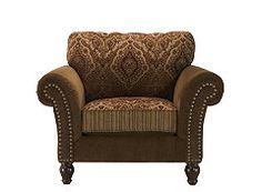 kathy ireland Home Bergen Microfiber Chair