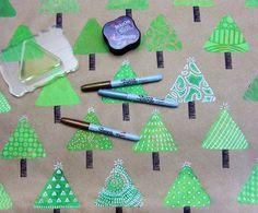 Gelli Printing: DIY Gift Wrap... and More! -- blog tutorial!!