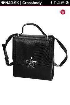 Kabelka crossbody Monnari Čierna BAG 4320-020 W18 Gym Bag, Bags, Fashion, Handbags, Moda, Fashion Styles, Fashion Illustrations, Bag, Totes