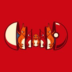 Poketryoshka - Pokemon Nesting Dolls /// Charmander-Charmeleon-Charizard /// by Michael Myers, via Behance Geek Out, Nerd Geek, Pikachu, Charmander Charmeleon Charizard, Pokemon Party, Easy Pokemon, Nintendo Pokemon, Pokemon Red, Dibujos Cute