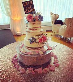 Naked wedding cake #carinaedolce www.carinaedolce www.facebook.com/carinaedolce Baby Shower Cakes, Cake Ideas, Wedding Stuff, Wedding Cakes, Naked, Backyard, Facebook, Desserts, Food