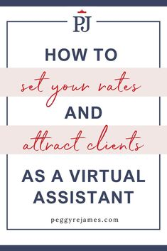Figuring out how to set your rates for your virtual assistant services can be a bit confusing, especially for new virtual assistants. In this post, you'll learn the pros and cons of hourly pricing and package pricing and how to properly price your services. Make More Money, Extra Money, Business Planning, Business Tips, How To Get Clients, Virtual Assistant Services, Successful Online Businesses, Starting Your Own Business, Online Marketing