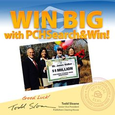 Mr. James Walker $1,000,000 Super Prize WINNER!! This could be ME!! Good Luck :-)